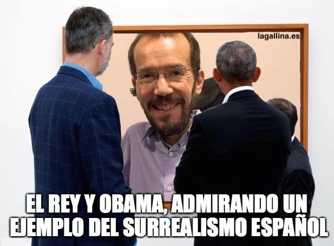 meme-cuadro-surrealismo-obama-rey-echenique-gallina-ilustrada